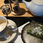 伊藤久右衛門 - 宇治抹茶タルト・オ・ショコラと宇治紅茶とのセット