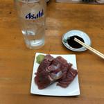 魚介 - マグロと焼酎