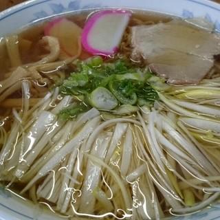 さつき食堂 - 料理写真:ネギラーメン  ¥750