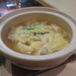 立ち飲み処 ○ - 肉豆腐(玉子とじ)