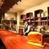 onseん - 内観写真:特徴は80cm以上幅のある木製カウンター。店内奥には3つのボックス席もご用意しております。