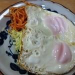 ときわ食堂 - 料理写真:目玉焼き220円