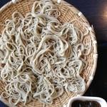 佳蕎庵 - 冷たい蕎麦(普通盛り)
