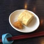 佳蕎庵 - 玉子焼きの1/3(岩手イーハトーブ卵)