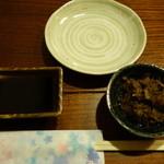 かっちゃん - 料理写真:2016.01 お通しの牛肉つくだ煮