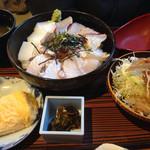 遊酒 花房 - 炙り海鮮丼