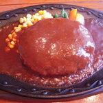 ダディーズハンバーグ - 料理写真:ランチハンバーグ