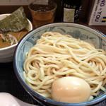 自家製麺つけそば 九六 - 201601 カレーつけそば 大盛り(800円)