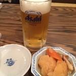 ひろちゃん - ビール&お通し