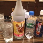 ひろちゃん - 千成オリジナル焼酎を水割り&ウーロン割