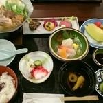 宇奈月国際ホテル - 料理写真:これに茶碗蒸しも付く