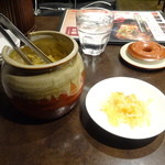 陳家私菜 赤坂一号店 湧の台所 - 食べ放題?のお浸し