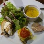 フォンティーナ チーズ ダイニング - 料理写真:前菜