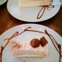 cake gallery 99 - ミルクレープ(上) モンブラン(下)