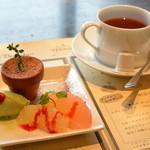 VERANDA - デザートと紅茶