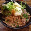 名物すた丼の店 - 料理写真:みすじステーキ丼