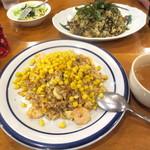 パスタ - 日替わりピラフランチ¥870(スープ、ドリンク付き)
