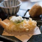 蕎麦貴石 - 天ぷら(お昼のセット)