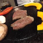 下釜 - お肉も柔らかくて美味しい。 火力がもうちょい強めが良いなぁ