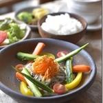 素敵屋さん - 料理写真:限定ランチイタリアン バーニャハンバーグソース