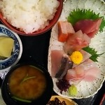 魚ごころ 季魚喜人 - お刺身定食