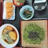 山賊鍋 - 料理写真:茶そば定食