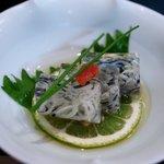 大海寿司 - 料理写真:ふぐ皮煮煮こごり