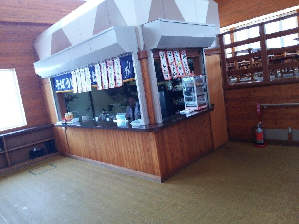 こまどりスキー場食堂