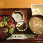 玉乃光酒蔵 - 海鮮丼 1000円