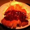 ギオン シグマ - 料理写真:H27/2しぐま名物 わらじみそかつ定食