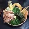 大地のうどん - 料理写真:冷野菜天ぶっかけ