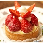 オディール - 苺のタルト