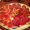 ラ・タスカ - 料理写真:スペイン産 生ハムの4種盛