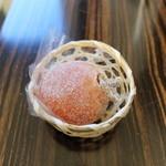 御菓子司 風外 - 料理写真:塩の道柿 栗