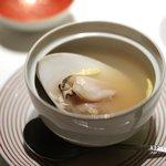メゾン・ド・ユーロン - はまぐりのスープ