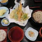 味ごよみ吉野 - 天ぷら定食1,400円
