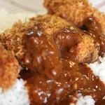 マサラ - 牡蠣フライ 激辛カレー