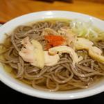 一寸亭 - 冷たい肉そば(普通)