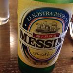 トラットリア ピノ - メッシーナビール