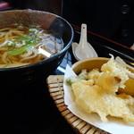 五右衛門 - 天ぷらうどん(880円・込)