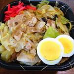 蒙古タンメン中本 - 野菜丼