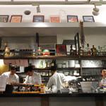 モード カフェ ギャマン - クリスマスのオープンキッチン