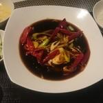46354101 - 角煮の麻ラー風味
