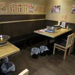 蟹奉行 - 内観写真:内観:テーブル席