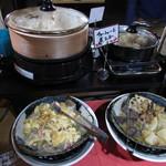 蟹奉行 - 料理写真:かに玉あんかけ・チャーシューと煮玉子