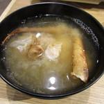 蟹奉行 - 料理写真:カニのみそ汁