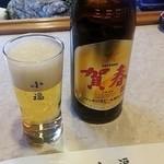 小福 - サッポロ賀春ビール。