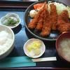 蔵 - 料理写真:エビ・ヒレ・アジフライ定食