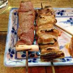 弁慶  - 右が遅れてきたシロ120円