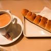 サンマルクカフェ - 料理写真:コーヒー・M(ホット)、やみつきドッグ